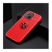 Case Ancus AutoFocus Shock Proof with Ring Holder for Apple iPhone 13 Red