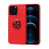 Case Ancus AutoFocus Shock Proof with Ring Holder for Apple iPhone 13 Pro Red