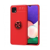 Case Ancus AutoFocus Shock Proof with Ring Holder for Samsung SM-A226 Galaxy A22 5G Red